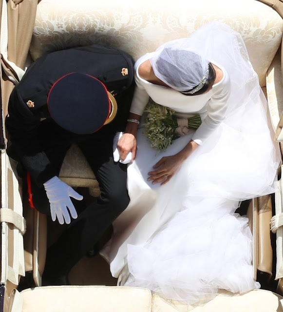 Royal Wedding Yui Mok / Press association