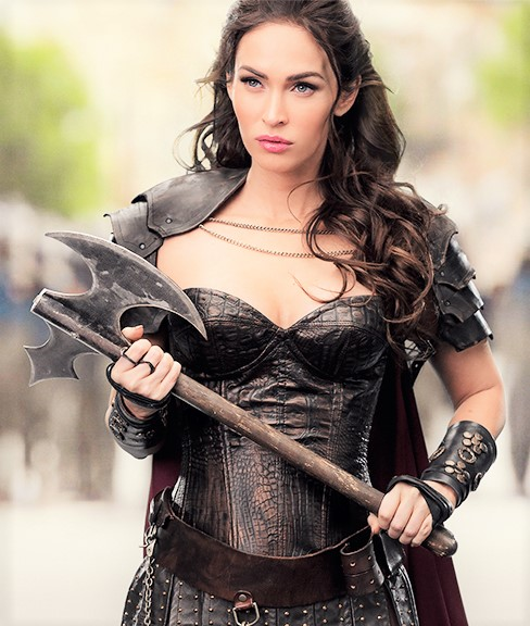 Megan Fox the beautiful acress in hollywood
