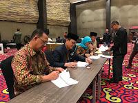 Pleno Terbuka Rekapitulasi Tingkat KPU Lampung Selesai Dengan Baik