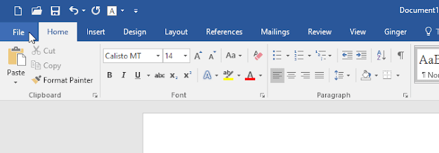 Cara Ubah Tema Aplikasi Office 2016 (Word, Excel, PowerPoint…)