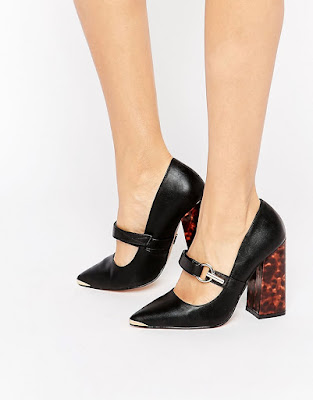 zapatos negros para oficina