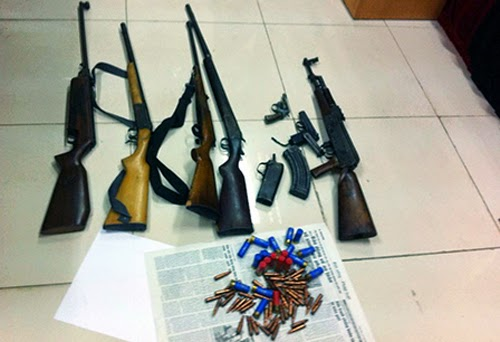 Quảng Ninh: phá đường dây vận chuyển ma túy, vũ khí lớn