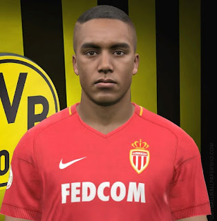 PES 2017 Faces Youri Tielemans by FaceEditor Jefferson_SF
