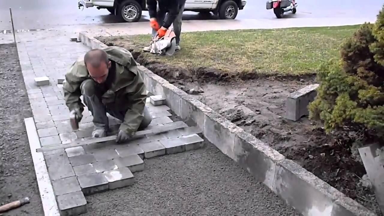 Cara Pemasangan Paving Block \/ Conblock  Dimensi Block