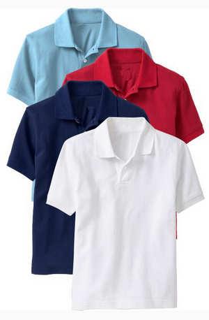 Baju Kaos Kerah