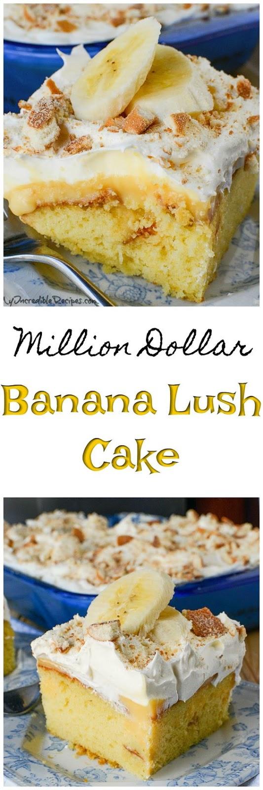 Banana Pudding Lush Cake