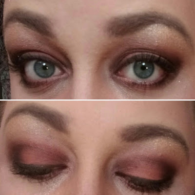 Rusty Red and Brown Look - Sultry Makeup