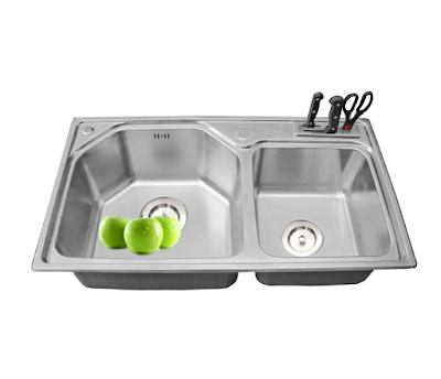 Bồn rửa chén Coldwell 2DL8448 Toàn Mỹ
