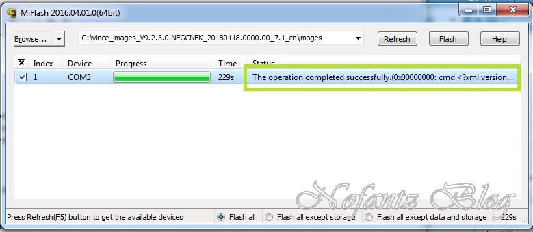 [Fix Unbrick] Redmi 5 Plus Bootloop After Flash