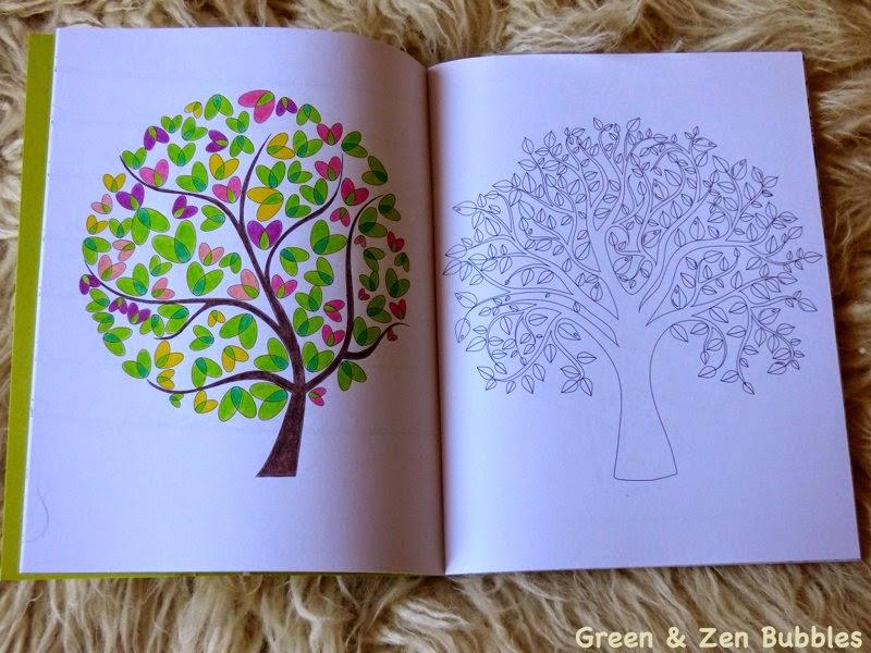 Coloriage Anti Stress Nature Et Decouverte.Green Zen Bubbles Le Coloriage Pour Adultes C Est Tendance
