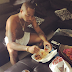 EFIWE GOSSIP: HKN GANG Boss Davido Eating With Boxers Alone