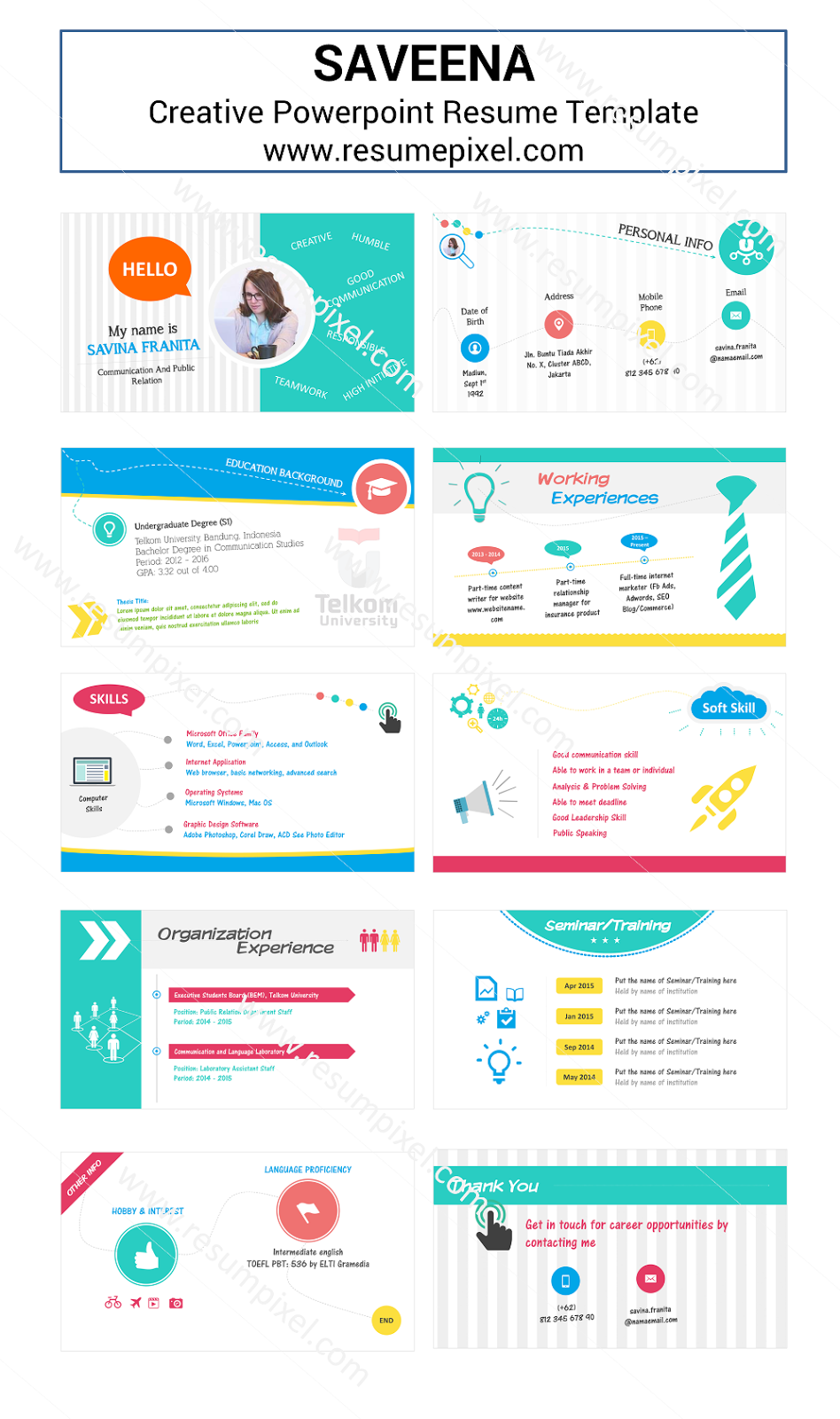 resume powerpoint template image collections templates example