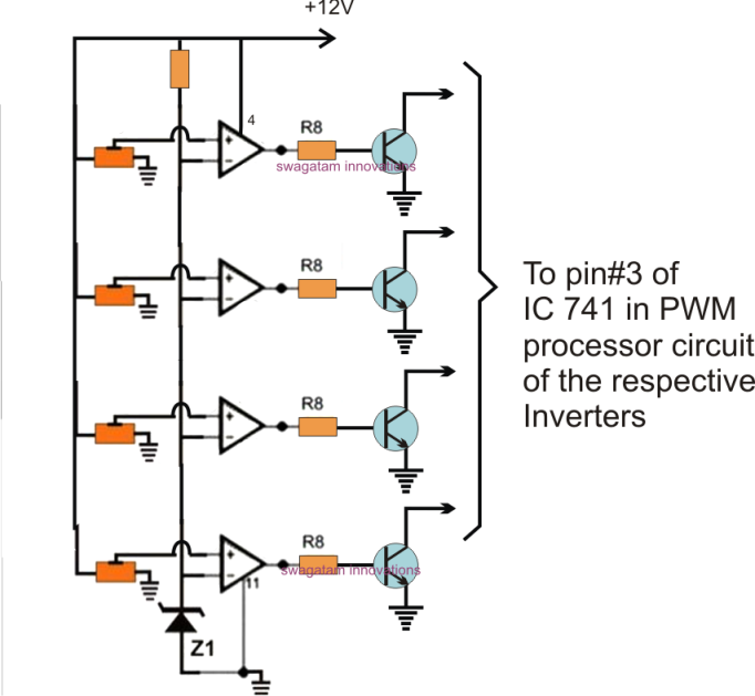 synchronized 4kva stackable inverter circuit part 3