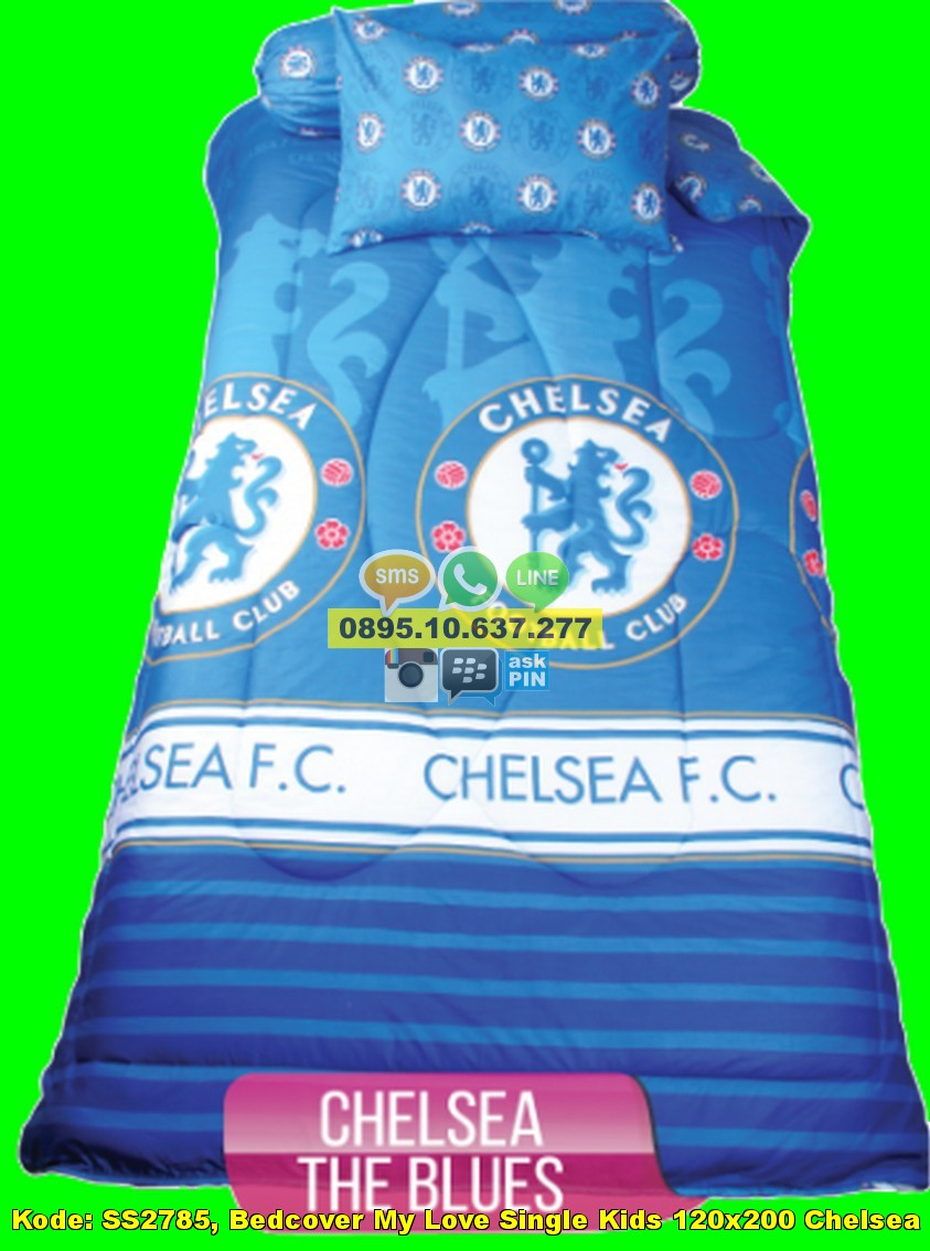 Bebarang Impor Bedcover My Love Single Kids 120x200 Chelsea Distributor Kintakun