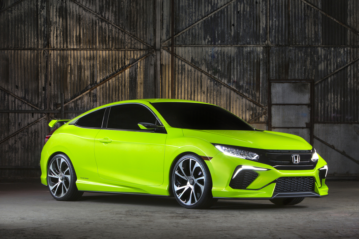 2015 Honda Civic concept New York