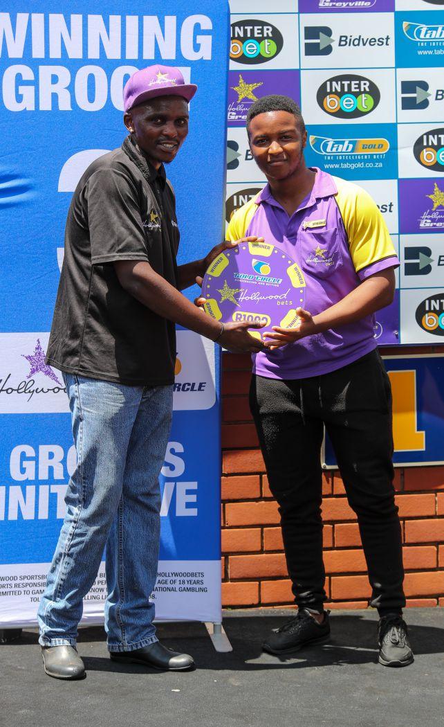 Grooms' Initiative Winners - 12th January 2020 - Race 1 - Zukile Mdukulwana - GAIL FORCE