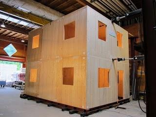 construçao com madeira clt