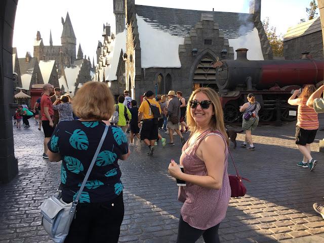 Harry Potter World, Universal Studios Hollywood, Los Angeles, Hogwarts, Jamie Allison Sanders, Rory Sanders