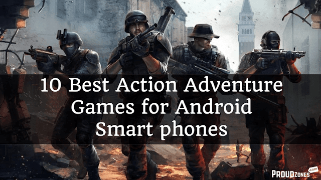 action adventure games android smartphone