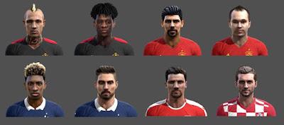 EURO 2016 FACEPACK