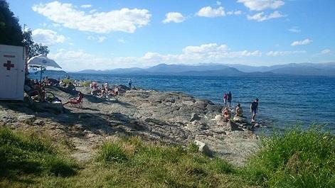 O que fazer na Praia Melipal em Bariloche
