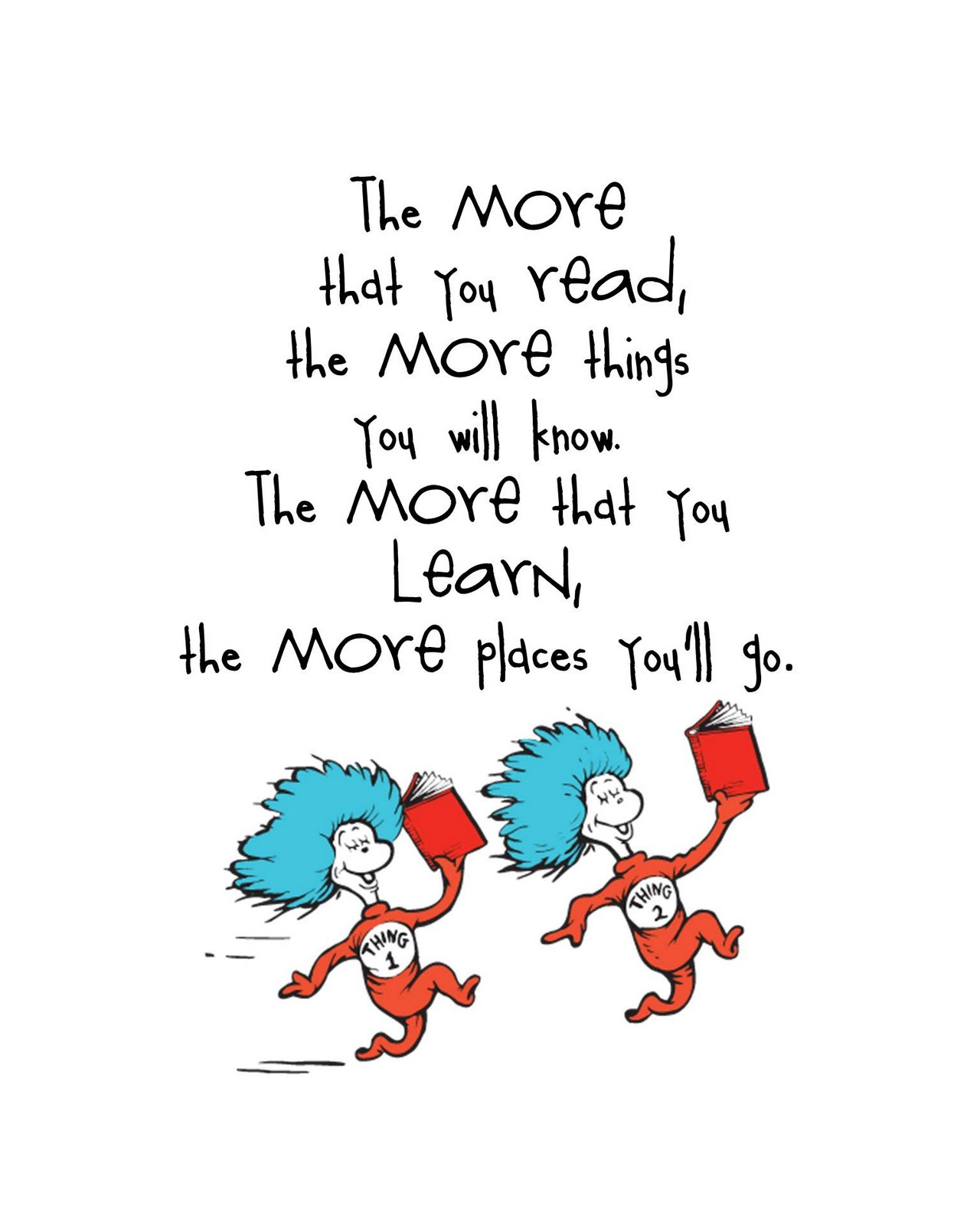 Dr Seuss Quotes About Reading Quotesgram
