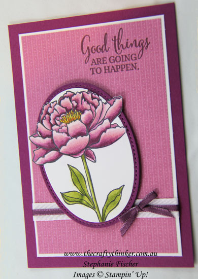 #thecraftythinker, #stampinup, #cardmaking, #stampinblends, Out of the Box, You've Got This, Stampin' Blends, Alcohol Markers, Stampin' Up Australia Demonstrator, Stephanie Fischer, Sydney NSW