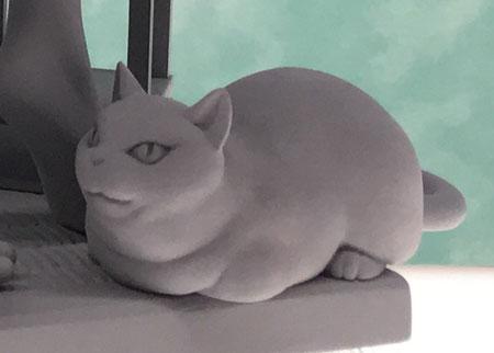 Figura Nekomata Okoi Oboro Muramasa Cat view
