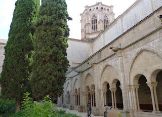 Claustro del Monasterio de Poblet.