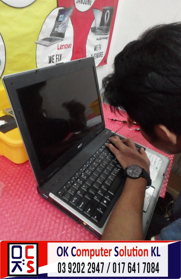 [SOLVED] MASALAH SKRIN ACER ASPIRE 4740G | REPAIR LAPTOP CHERAS 5