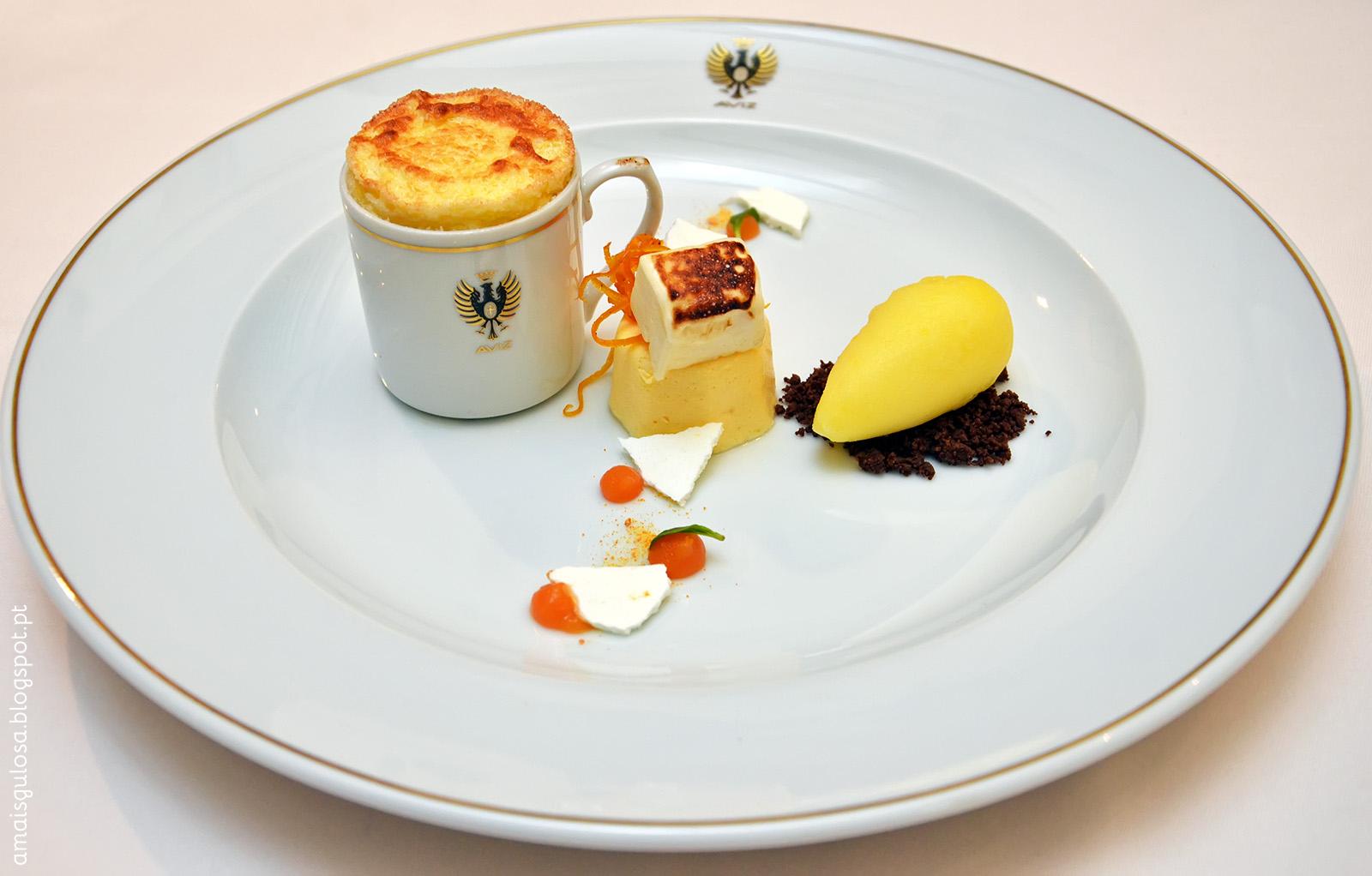Soufflé de Tangerina | Receita do Restaurante Aviz | Há