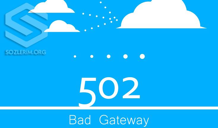 502 Bad Gateway Hatası alıyorum, 502 Bad Gateway Hatası nedir, 502 Bad Gateway Hatası neden olur, 502 Bad Gateway Hatası nedenleri