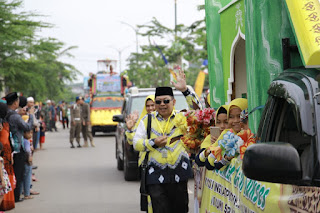 Kotabaru Kirim 85 Kafilah Untuk Pawai Taaruf di Tabalong