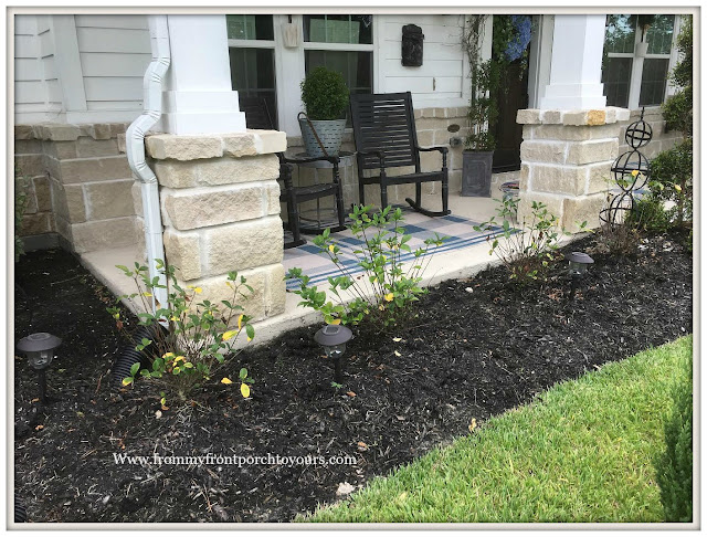 Flower Beds-Curb Appeal-Gardenias-DIY-From My Front Porch To Yours
