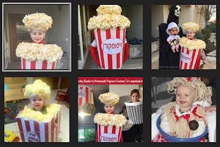 popcorn costume halloween
