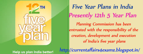 how many five year plans in india