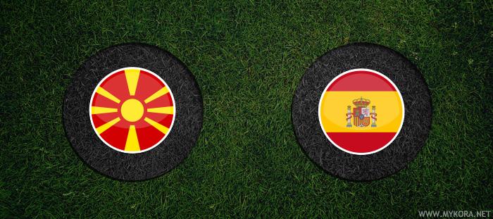اسبانيا ومقدونيا بث مباشر