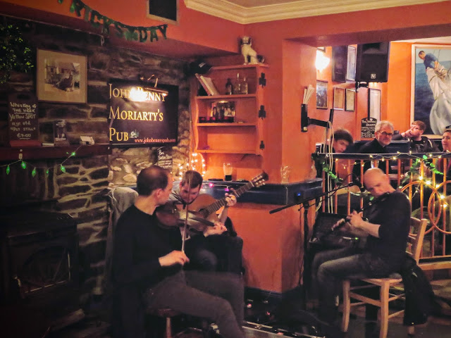 St. Patrick's Day Weekend on Dingle Peninsula - Trad Music