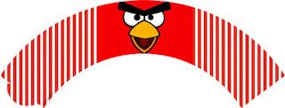 Wrappers  para Cupcake de Angry Birds para Imprimir Gratis.