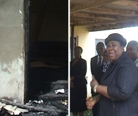 Hoodlums Set Osun High Court Ablaze (Photos)