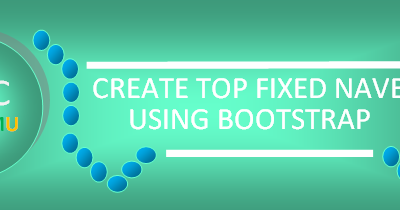 Bootstrap Top Fix Navbar Pada Halaman Web