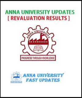 Anna University, Anna University 2018 Revaluation Results, May June 2018 revaluation results, Anna University April May 2018 Revaluation Results, Anna University Revaluation Results 2018,