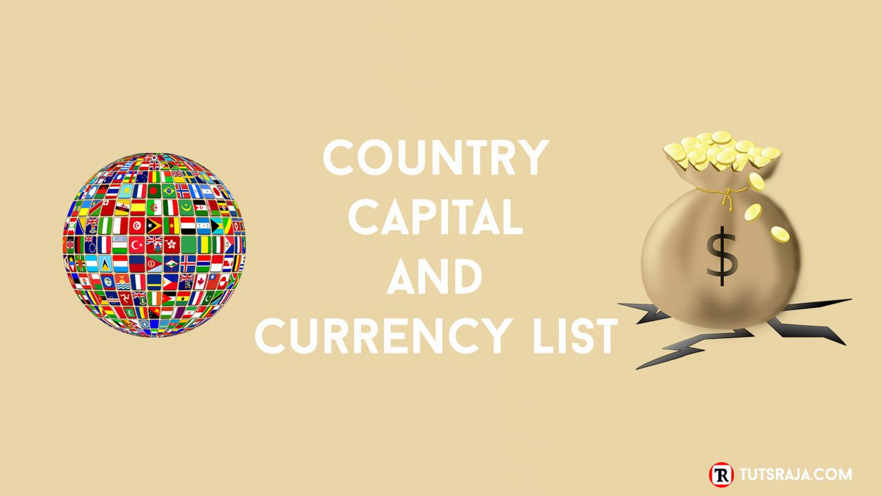 Country Capital and Currency