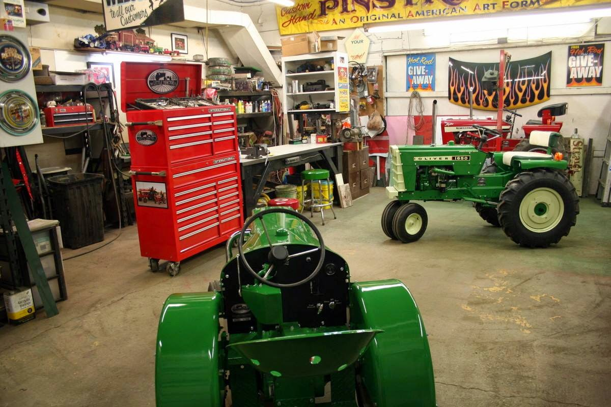 Show home build gas powered mini tractors - The Little Tractor Co World Headquarters