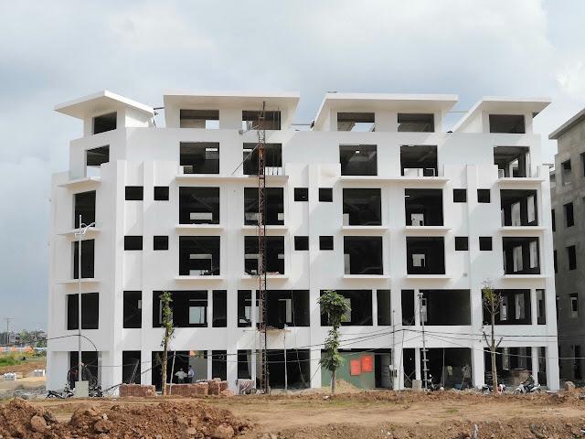Tiến độ hoàn thiện của Khai Sơn Town