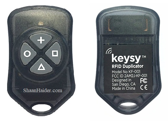 Keysy RFID Key Duplicator - Hands-on Review and Features