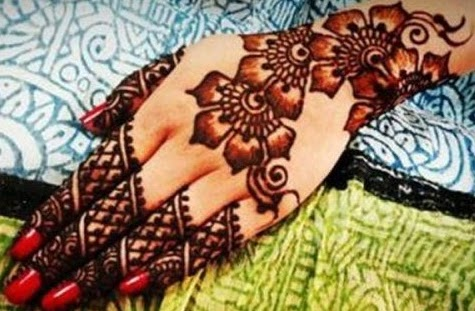 Flower Wali Mehndi : Latest shaded mehndi designs for all occasion