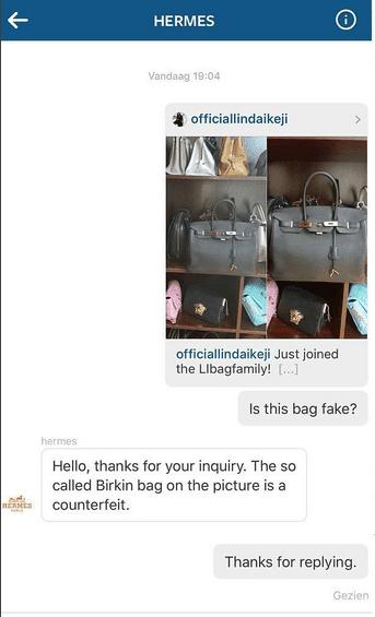 faux birkin - HERMES confirm that Linda Ikeji Hermes BAGS are FAKE! | Naija Blog ...