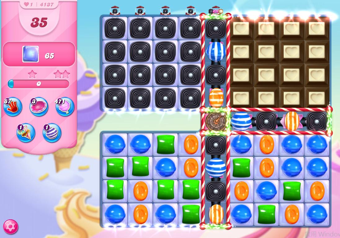 Candy Crush Saga level 4137