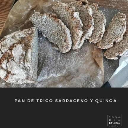 PAN TRIGO SARRACENO Y QUINOA